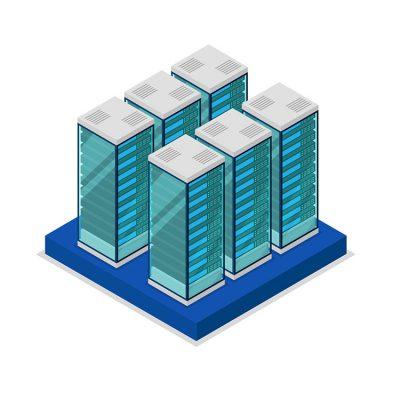 Unser modulares Racksystem lässt sich optimal an alle baulichen Gegebenheiten anpassen.