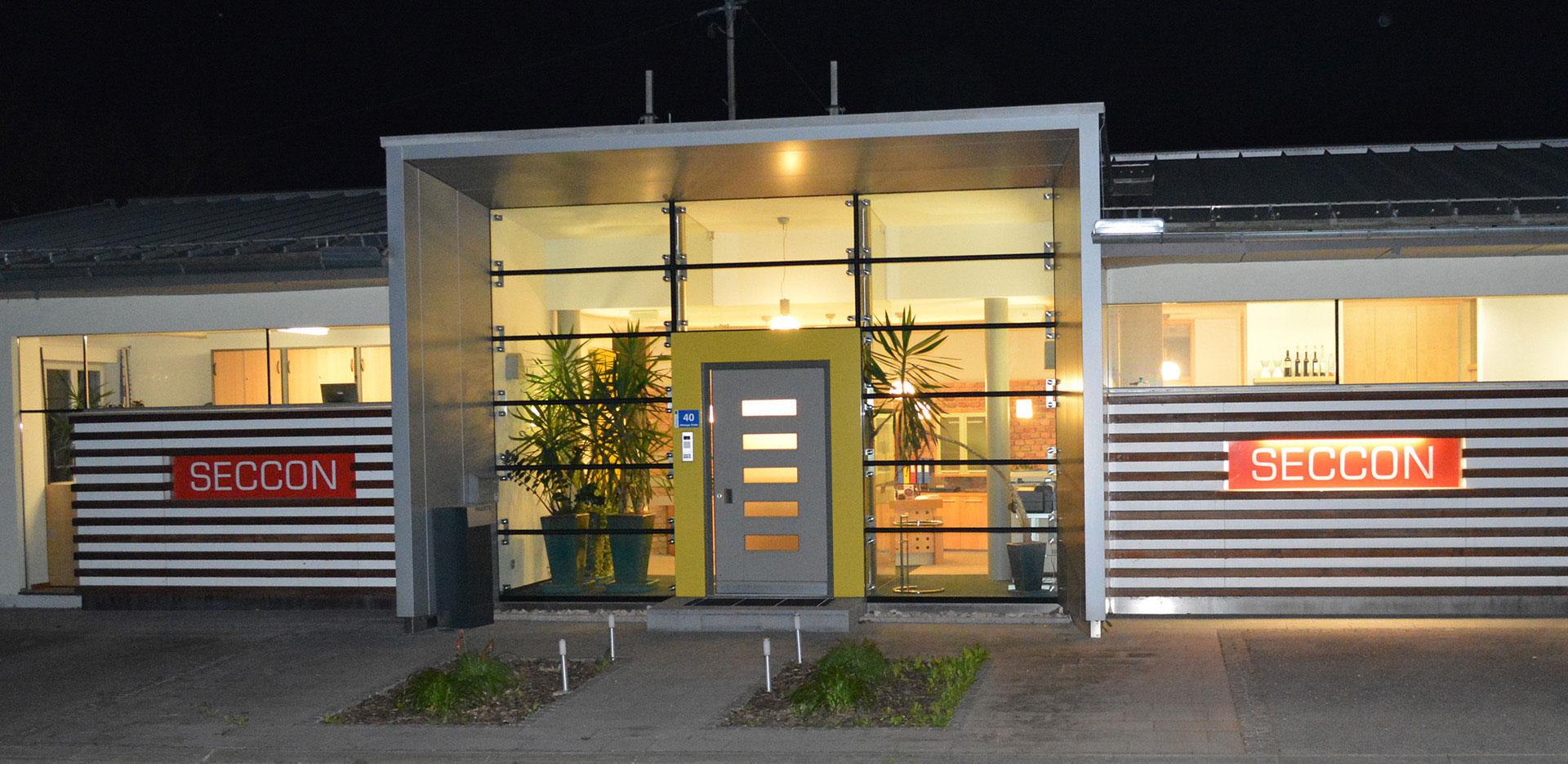 Firmengebäude Seccon